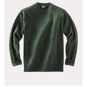 Pendleton | Shetland Washable Wool CrewNeck (S)